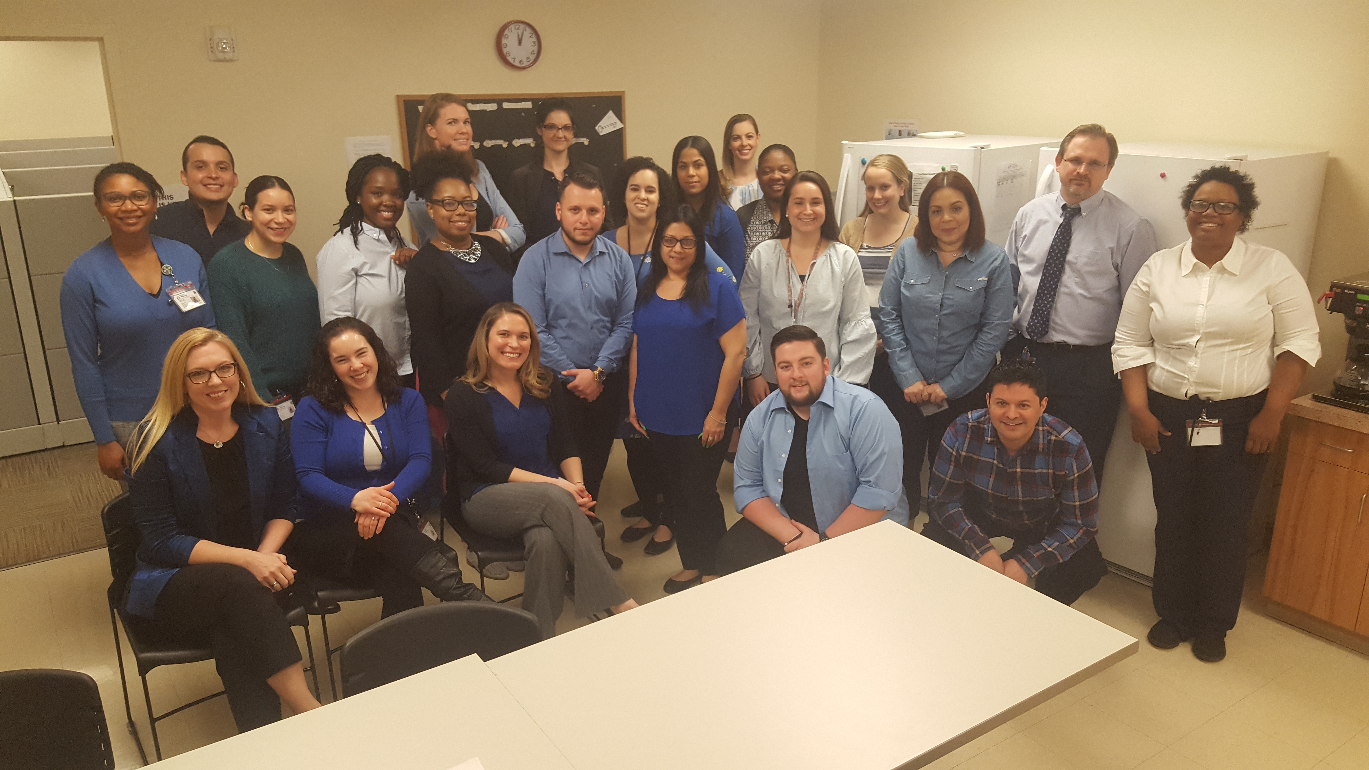 Featured image for blog post: Our BP Team Goes Blue for Autism Awareness Month
