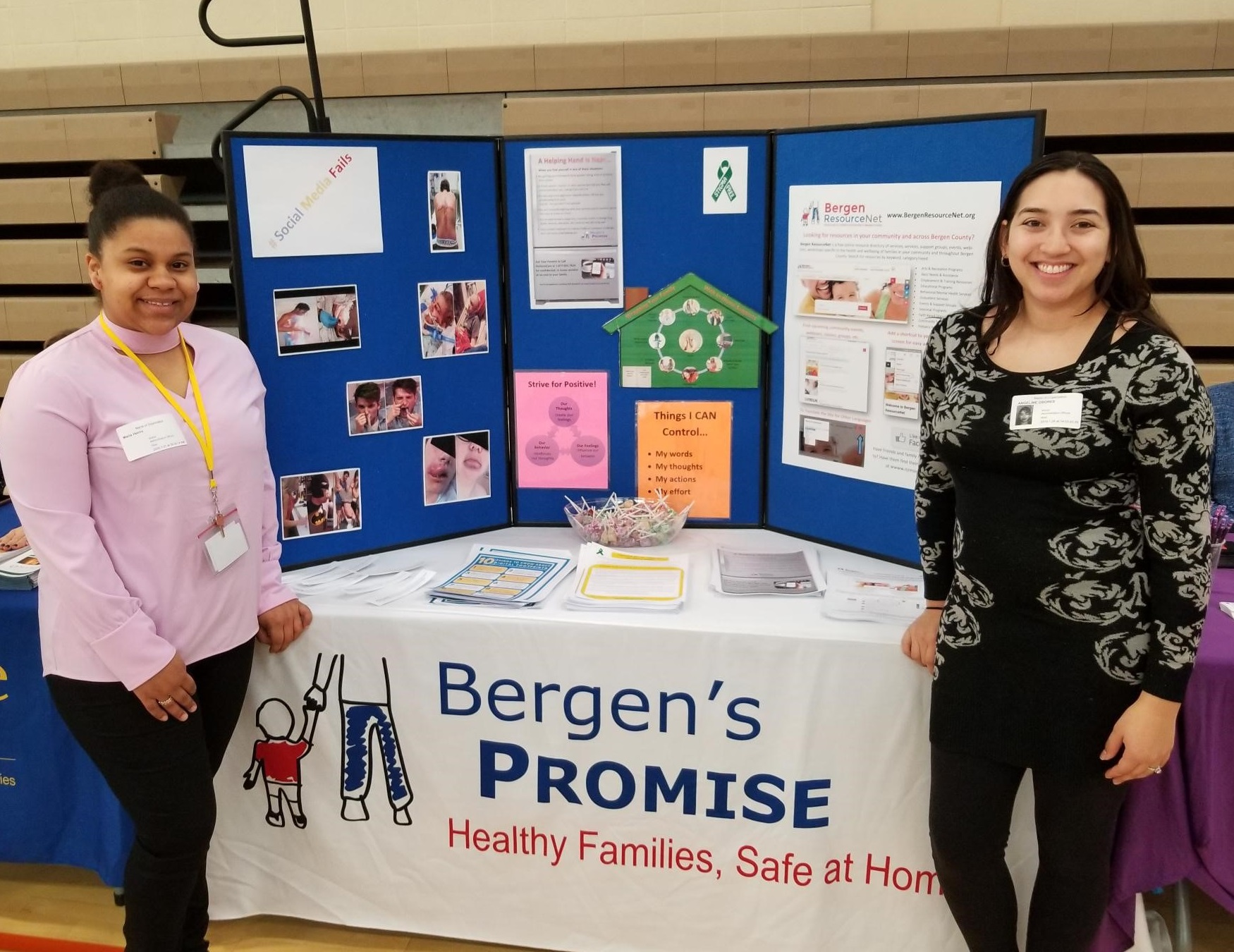 "Featured image for blog post: Bergen's Promise at Dumont High School ""Focus on Success"" Wellness Fair"